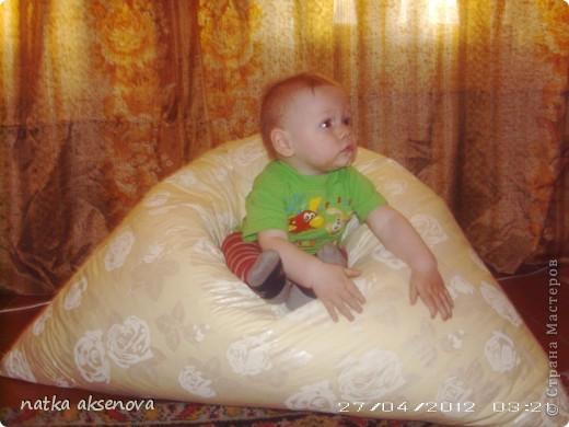 вот наконец-то и я сшила своим мальчикам кресло-мешок фото 1