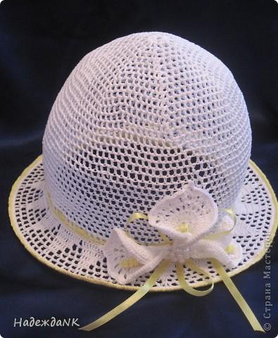 Я связала вот такую шляпку!!!  фото 1