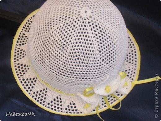 Я связала вот такую шляпку!!!  фото 9
