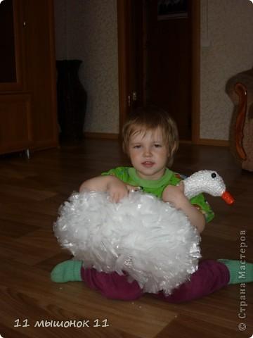 Связалась вот такая лебедь белая. фото 4