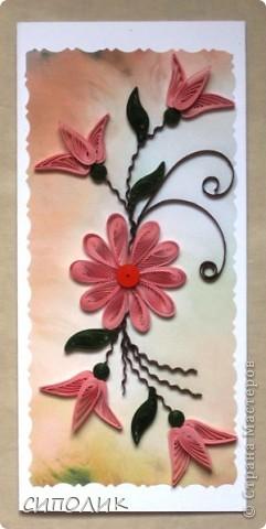 Сегодня у меня открытки, которые все, кроме первой, сделаны безадресно. Просто сложилось открыточное настроение.... Первая открытка сдела была чуть раньше и былаподарена на день рождения женщине , фамилия которой в переводе с латышского языка означает не что инное, как Мак. фото 5