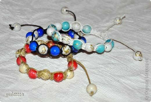 Мои браслеты-шамбала фото 3