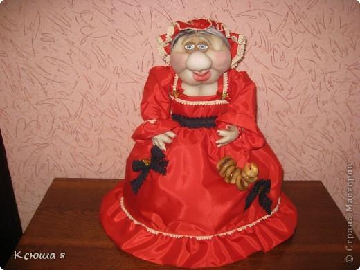 Кукла на чайник. фото 1