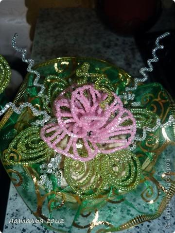корзина с розами.подарок для подруги. фото 3