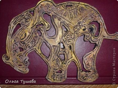 вот такой окончательный вид принял мой слоник фото 1