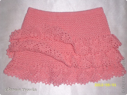 Вязание для девочек юбочки крючком 4