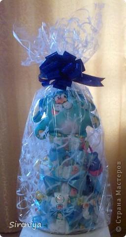 """Вот такой тортик """"испекся"""" для новорожденного мальчика)) фото 4"""