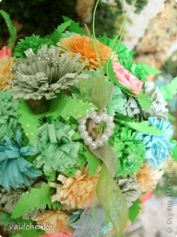 УРА!!! Май цветет и празднует! Всех поздравляю с самым нежно-сиренево-ландышевым зелено-праздничным МАЕМ!!! вот и у меня получилось такое майское деревце - цветущее и радостное! фото 23