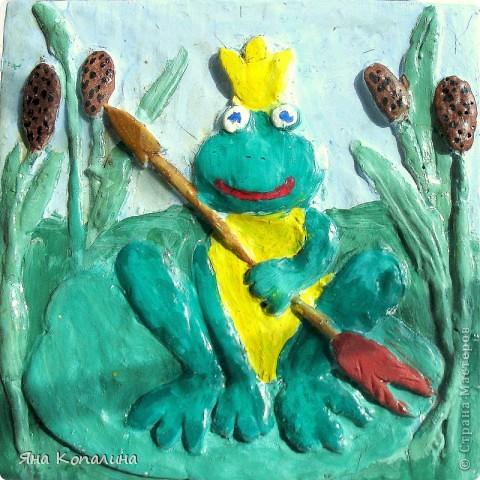 Изразец: Царевна-Лягушка