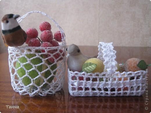Это мои корзиночки.  Готовила их к Пасхальным праздникам. фото 1