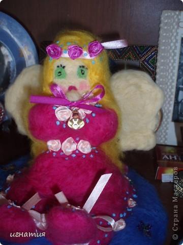 этого ангела я сваляла на годовщину нашей свадьбы фото 4