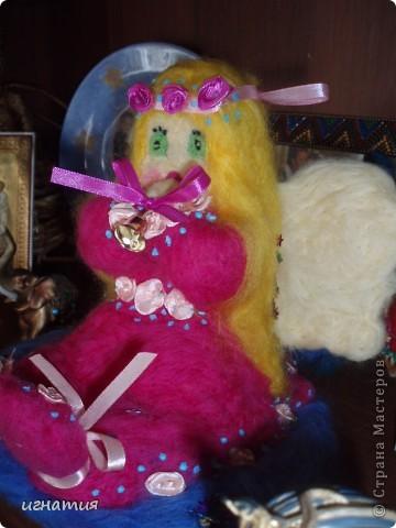 этого ангела я сваляла на годовщину нашей свадьбы фото 5