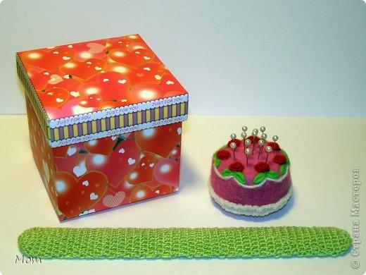 """Этот тортик я """"испекла"""" ко дню рождения моей доченьки. Она у меня рукодельница, к тому же следит за своей фигурой.  фото 3"""
