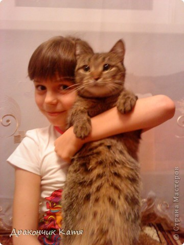 Хочу представить вам мою любимую кошку Анфиску.Мама подарила её мне на 8 марта когда я была в первом классе.С тех пор мы неразлучные друзья! фото 14