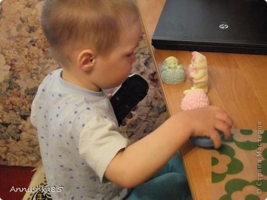 Думаю,ни один малыш не останется равнодушным к такому мыльцу. Даже самый заядлый грязнуля будет плескаться в ванной с радостью и удовольствием))). ,,Влюбленные мишки 2D,,   фото 9