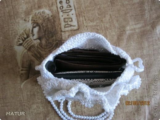вот такая сумочка у меня связалась)) фото 5