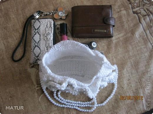вот такая сумочка у меня связалась)) фото 6