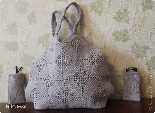 Здравствуйте мастера и мастерицы! Увидела я  вот такую сумочку http://stranamasterov.ru/node/171758 , и очень уж она  мне понравилась, и нитки такого же цвета давно меня ждали.  фото 1