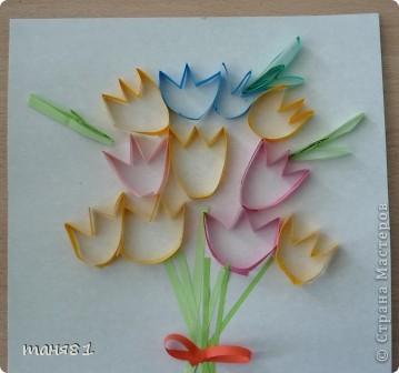 Вот такие весенние цветы у нас появились на последних занятиях. Ландыши. фото 5