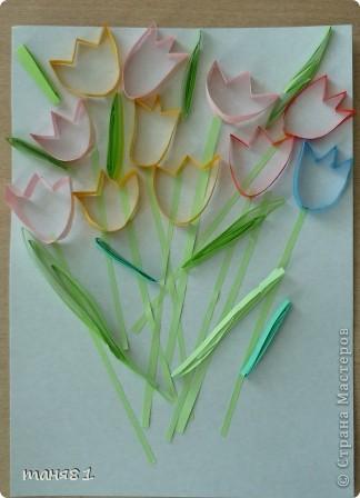 Вот такие весенние цветы у нас появились на последних занятиях. Ландыши. фото 6