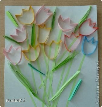 Вот такие весенние цветы у нас появились на последних занятиях. Ландыши. фото 7