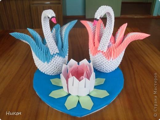 Лебеди на свадебный юбилей. фото 1