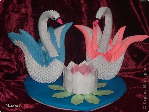 Лебеди на свадебный юбилей. фото 2