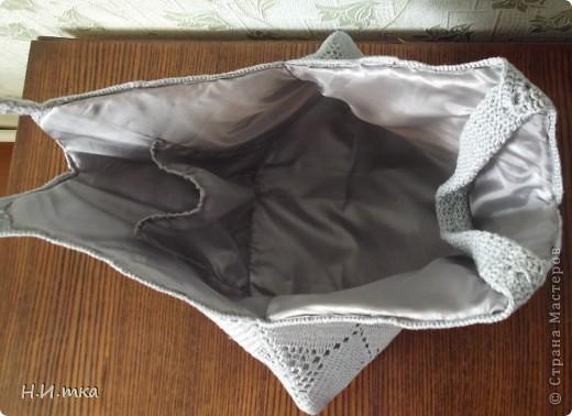 Здравствуйте мастера и мастерицы! Увидела я  вот такую сумочку http://stranamasterov.ru/node/171758 , и очень уж она  мне понравилась, и нитки такого же цвета давно меня ждали.  фото 3
