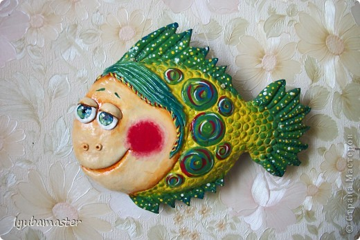 Рыбка размером 21 см на 16 см фото 1