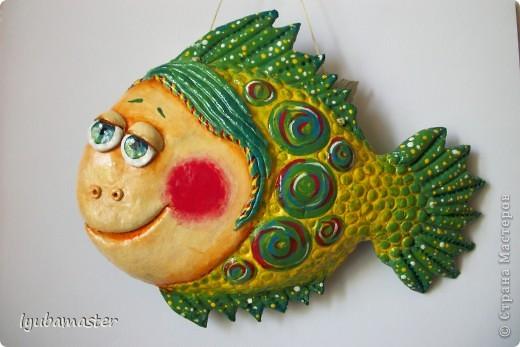 Рыбка размером 21 см на 16 см фото 2