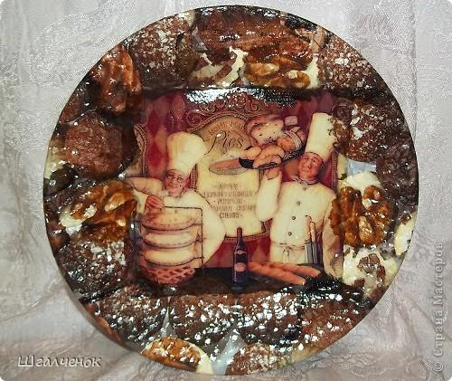 эту тарелочку я сделала для себя . фото 3
