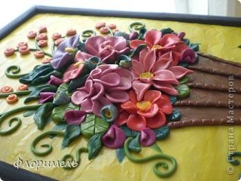 Цветы из пластилина. фото 2