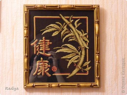 Это веточка сакуры. Очень люблю сакуру. а вот что иероглиф обозначает, не знаю. фото 3