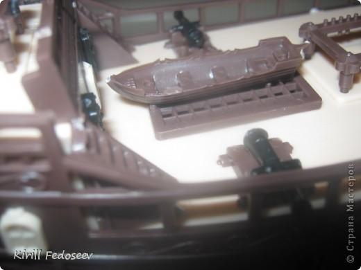 Всем добрый день!  Буквально вначале весны начал заниматься судомоделированием. Сегодня представляю вам первую модель корабля «Орёл»  фото 5