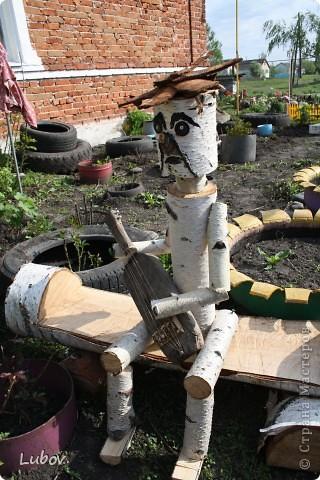 Садовые поделки. фото 7