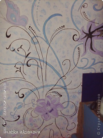 рисунок на стене - размер 2м на 4м фото 4