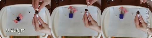 Видео Мастер-класс Поделка изделие Пасха Лепка Папье-маше Плетение Пасхальный венок МК + маленькое видео по цветочкам Гипс Комочки бумажные Материал природный Проволока Трава Фарфор холодный фото 7