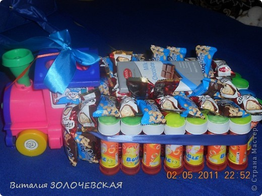 Из старой игрушки мыльных пузырей и конфеток получился сюрприз деткам в садик)))))))))) фото 2