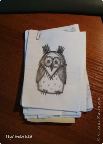 Что только не символизирует сова! Но мы выбираем самое нужное и плетём сову-шкатулку. фото 2