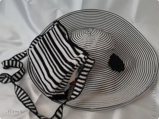 мой комплектик! шляпка покупная (подарок супруга), а к ней в комплект сумочка ;) хочу поучаствовать в фотоконкурсе фото 9