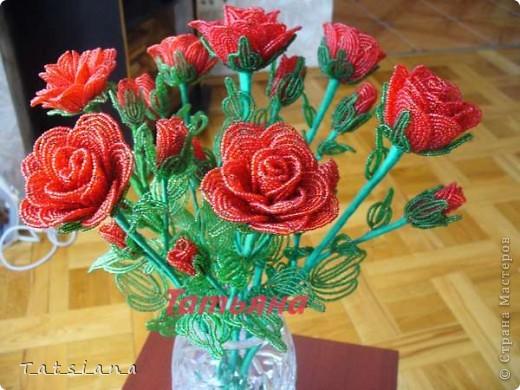 Букет роз.