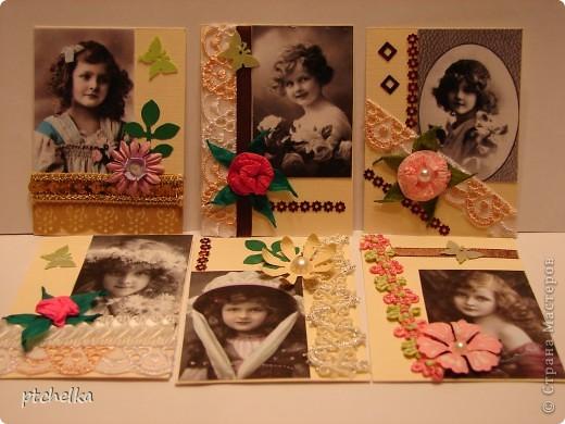 Приветствую всю Страну Мастеров на моем блоге! Вашему вниманию подготовила 1 часть Карточек: Детство. Первыми идут Кредиторы и приглашенные: Елена Скрёбова, Леночка Т,  Анна Нечаева,  ШМыГА, Дашутик ,Алисёнок-Кисёнок               фото 8