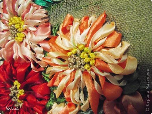 Доброе утро, Мастерицы!!!!! А у меня опять зонтик с цветами!  Делала на заказ! Все как всегда: сначала рисунок, потом вышивка! фото 3