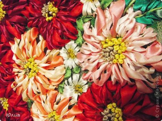 Доброе утро, Мастерицы!!!!! А у меня опять зонтик с цветами!  Делала на заказ! Все как всегда: сначала рисунок, потом вышивка! фото 4