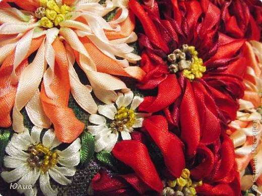 Доброе утро, Мастерицы!!!!! А у меня опять зонтик с цветами!  Делала на заказ! Все как всегда: сначала рисунок, потом вышивка! фото 2