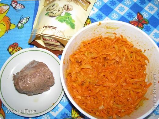 Вот такой замечательный и вкусный салат поучился. фото 2