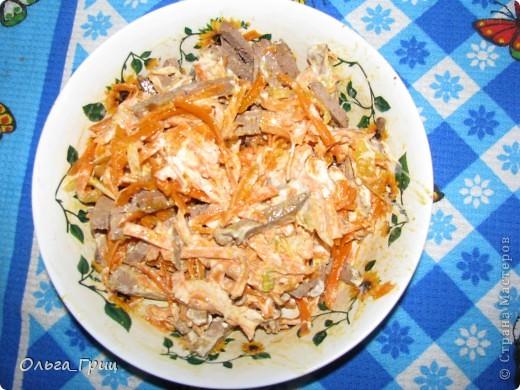 Вот такой замечательный и вкусный салат поучился. фото 6
