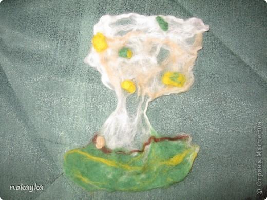 Валенное деревце фото 1