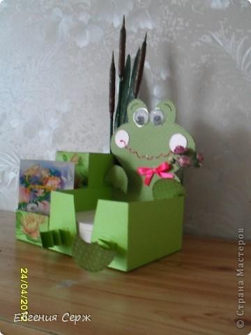 Подставочка под карандаши и ручки !Этот маленький подарочек хотелось сделать для хорошего человечка! И что бы подарочек оказался еще и для пользы!  фото 2