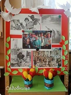 Оформление иллюстративного стенда для детей в ДОУ фото 1